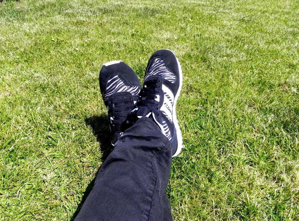 Mijn hippe sneakers!