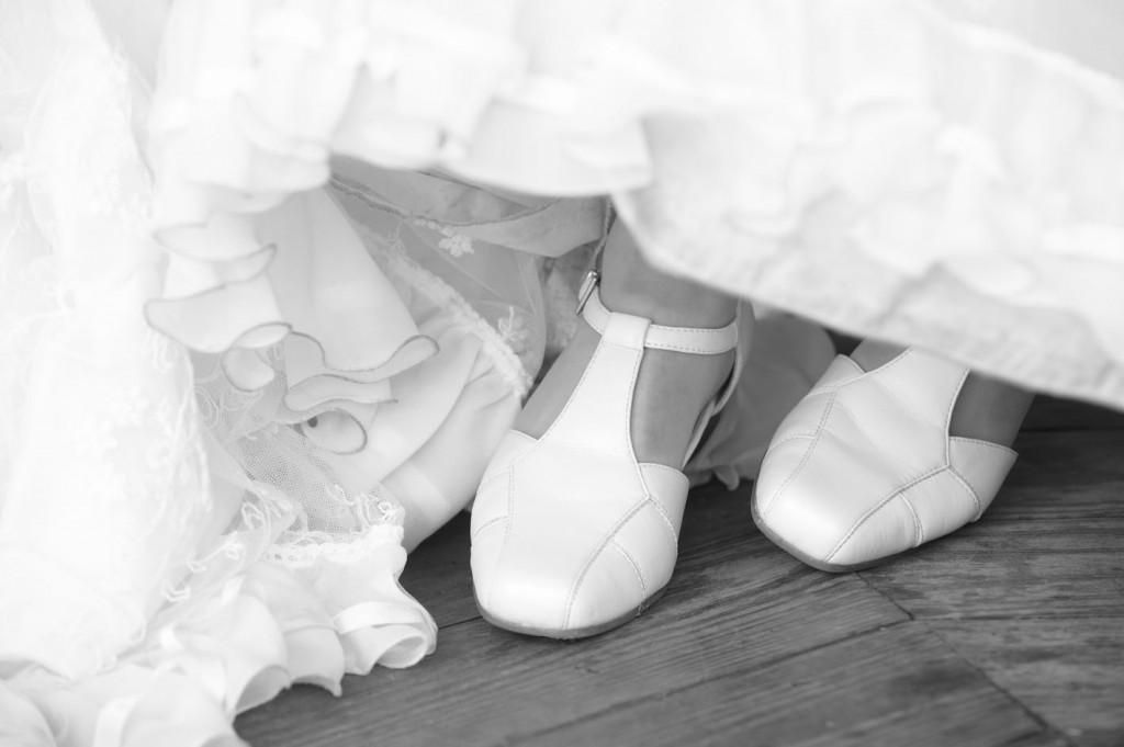 Echt waar: ik had geen sneakers onder mijn trouwjurk!
