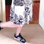 Domme outfit foto's