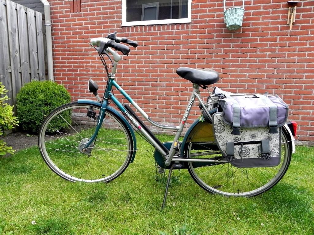 Bye bye oude fiets