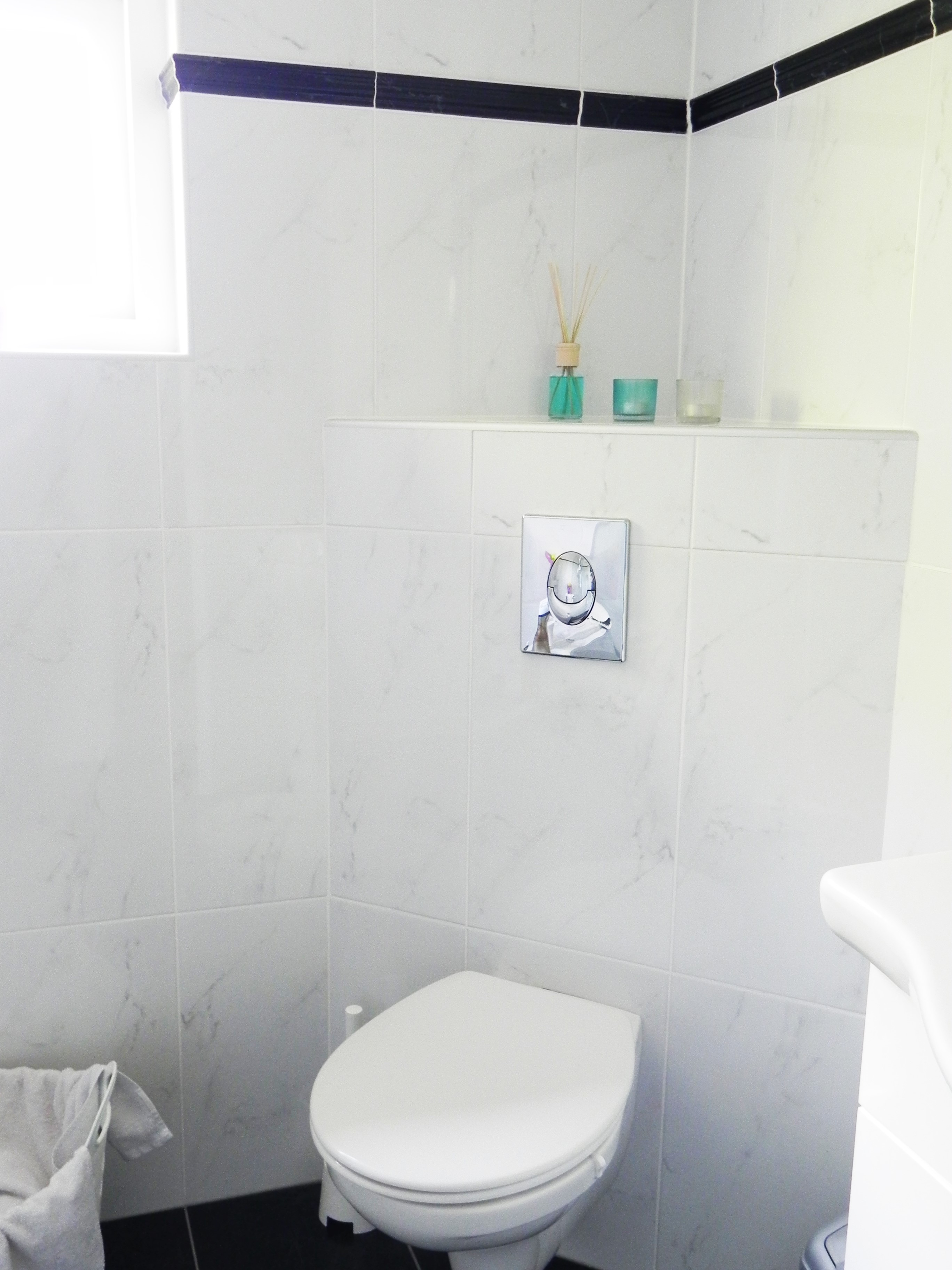 Je badkamer stylen budget tips la log - Sfeer zen badkamer ...