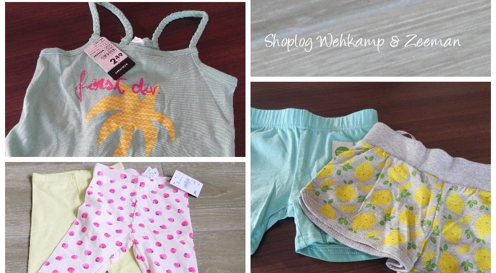 shoplog, Wehkamp, Zeeman, zomerkleren, blog, mamablog, lifestyle blog, La Log