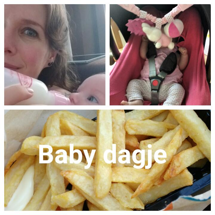 eerste prikje, weeklog, blog, baby, mamablog, overzichtje, La Log