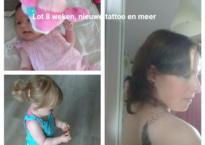 baby 8 weken, tattoo, blog, lifestyleblog, mamablog, La Log