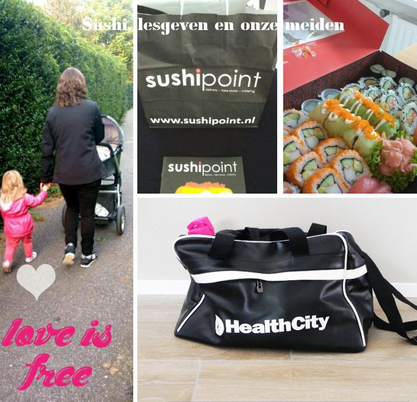 weekend, sushi, sporten, kinderen, blog, mama, mamablog, la log