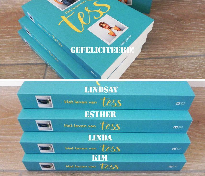 boeken, wiinactie, blog, winnen, uitgeverij Anthos, het leven van Tess, La Log