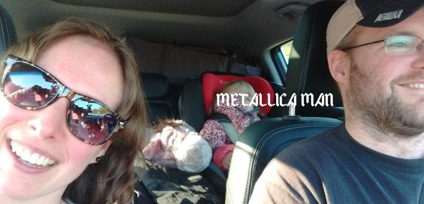 metallica, metallica man, blog, mamablog, lifestylebog, La Log