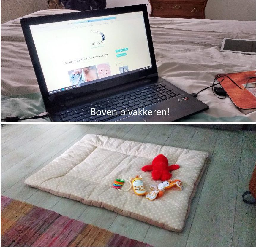 boven bivakkeren, baby, mama, mamablog, lifestyle blog, La Log