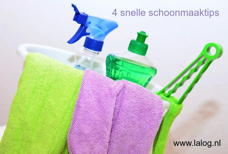 schoonmaken, schoonmaaktips, huishouden, poetsen, tips, blog, lifestyleblog, mamablog, La Log