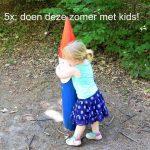 5x doen deze zomer met kleine kinderen