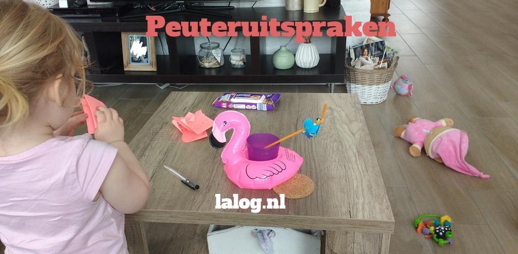 peuteruitspraken, peuter, blog, mama blog, mama-lifestyle blog, kinderen, uitspraken, La Log, lalog.nl