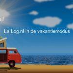 La Log.nl in vakantiemodus