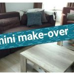 Mini woonkamer make-over