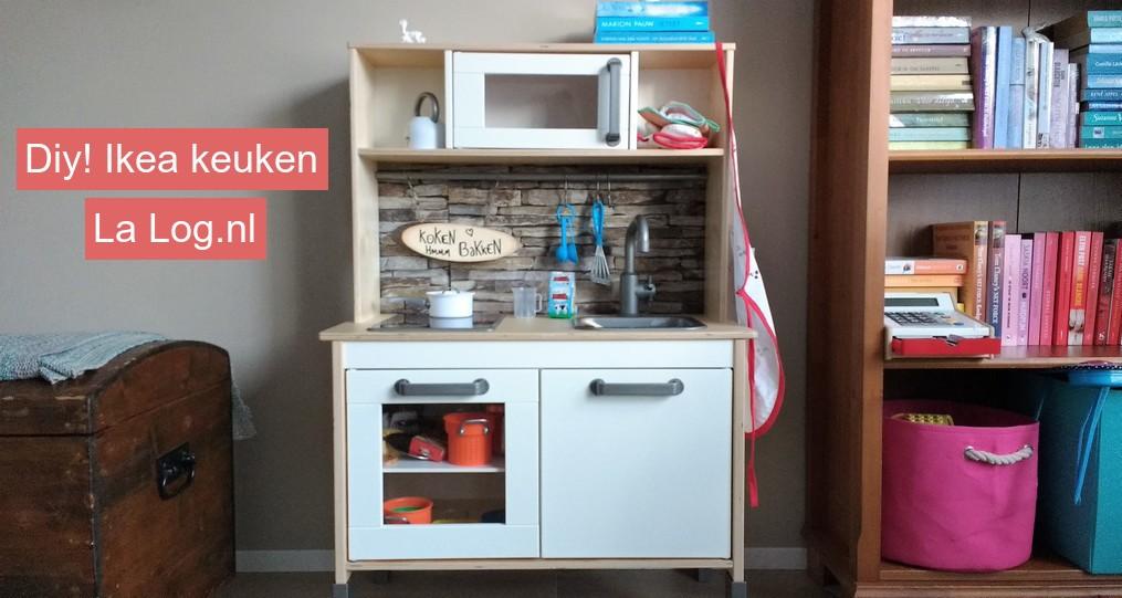 ikea keuken, make over ikea keukentje, kinderkeuken ikea, DIY Ikea keukentje, blog, mamablog, lifestyle blog, La Log.nl, La Log