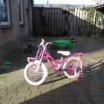 Tijd voor een grote meiden fiets