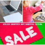 Online shoppen met korting. Altijd!