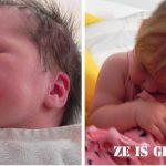 Ze is geboren!