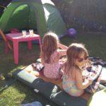 Op vakantie in de achtertuin