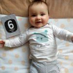 Ben is 6 maanden! Help, waar blijft die babytijd?